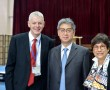 Mr Norm Dean, Dr Betty Chan and Mr Hou-Qing Yin