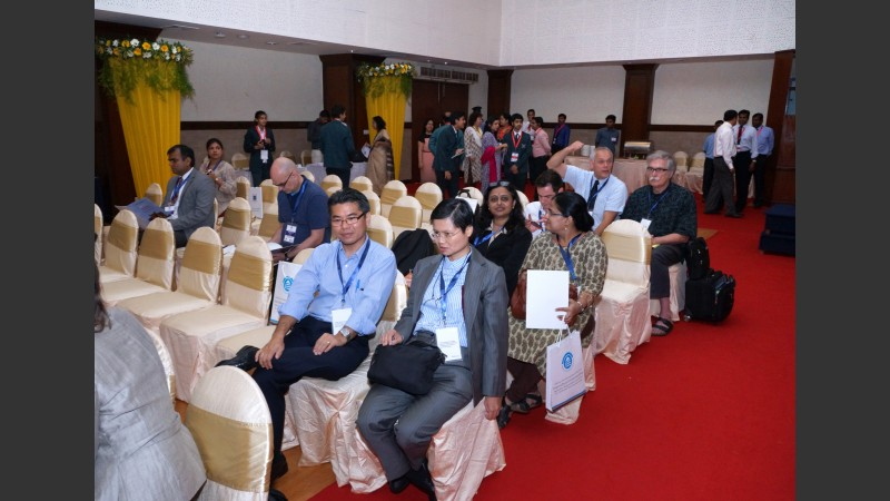 Audience in main hall