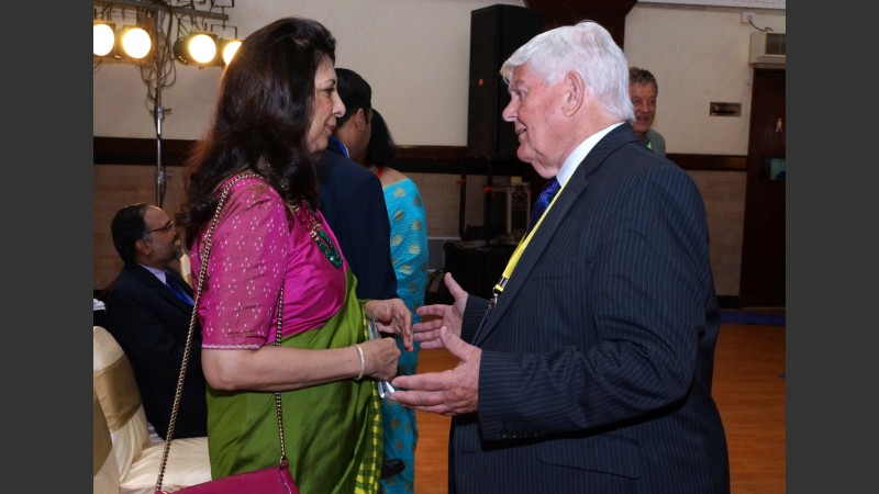 Dr Indu Shahani and Prof Jeff Thompson