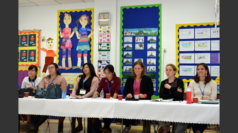 members of a teaching panel